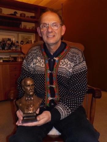 Bronze Sculptures of Sir William Olsler by Carolyn Palmer